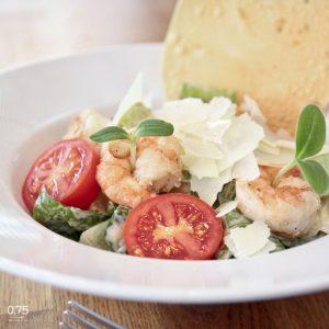 Caesar saláta rákkal - 0,75 bistro, borbár, étterem