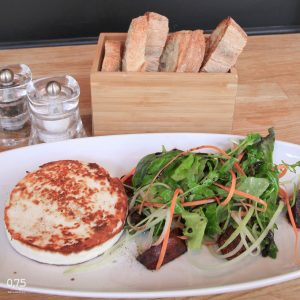 Grill kecskesajt céklás salátával - 0,75 bistro, borbár, étterem