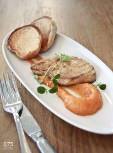 Sült libamáj ropogós kéregben - 0,75 bistro, borbár, étterem