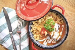 Paprikás csirke tojásos galuskával - 0,75 bistro, borbár, étterem