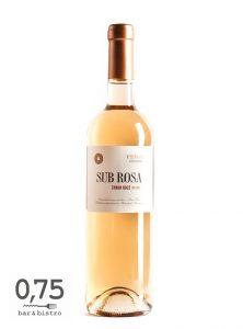 Feiszt - Sub rosa syrah rosé 2016 - 0,75 bistro, borbár, étterem a Bazilika mellett