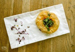 Chorizo édesköménymaggal cipóban sütve - 0,75 bistro Bazilika, borbár, étterem