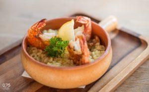Fűszeres rizs garnélával - 0,75 bistro Bazilika, borbár, étterem